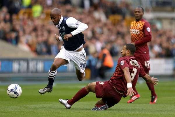 Team-mates: Millwall midfielder Nadjim Abdou
