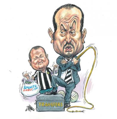 Dunlavy column: Even Big Mike dances to Rafa's Toon