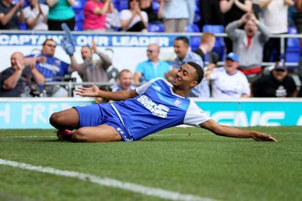 Hat-trick man Ward wants to catch the eye at Ipswich