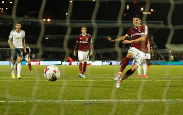 Alex Revell rues Northampton mistakes in EFL Cup defeat