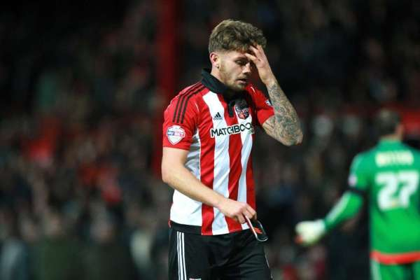 Brentford's Dean 'embarrassed' after play-acting