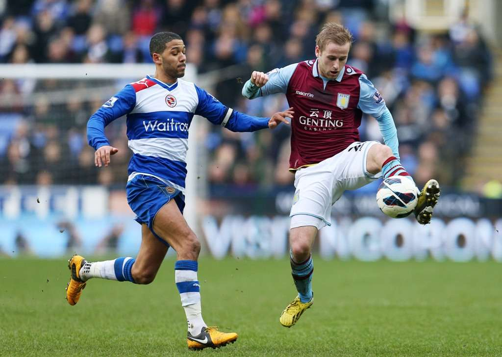 Bannan in action for Villa