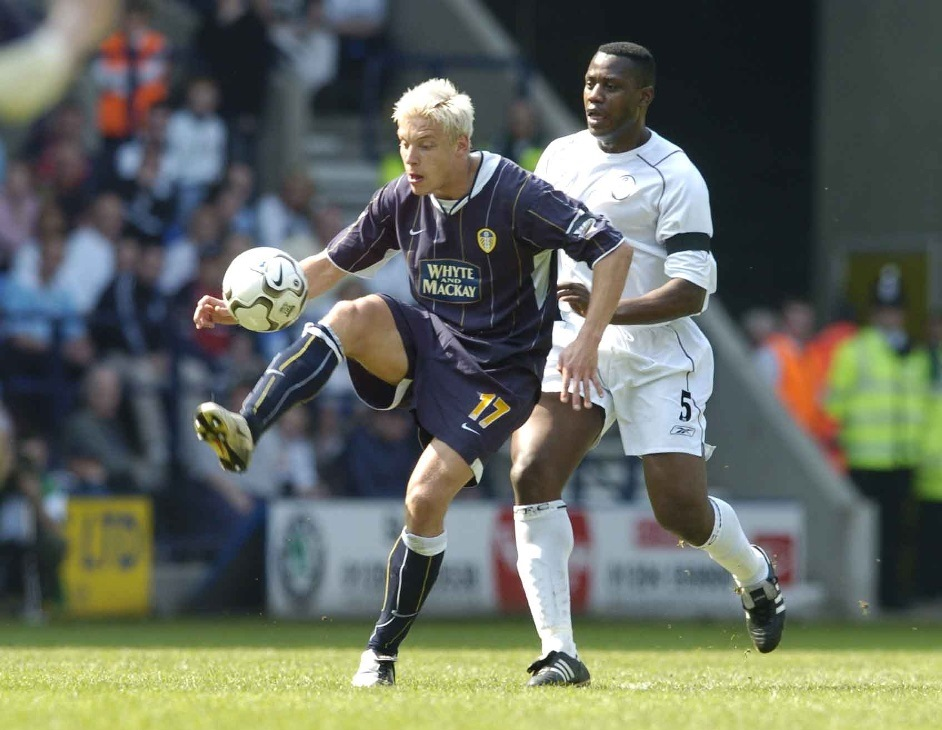 Hero: Leeds United's Alan Smith (Picture: Action Images)