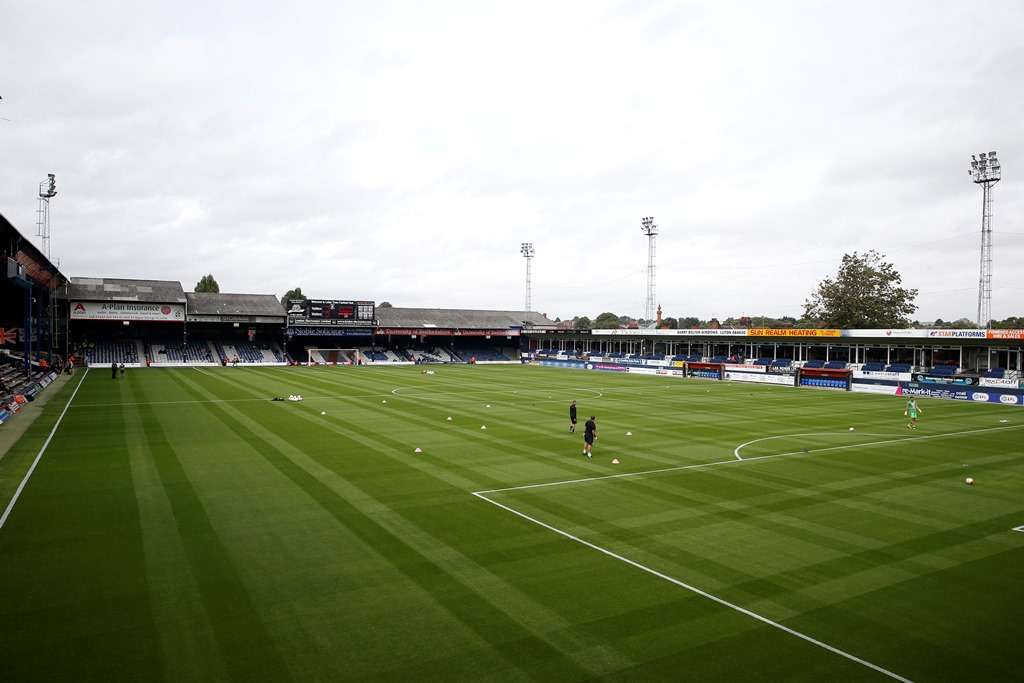 Toughest place to go: Kenilworth Road (photo by Action Images / Matthew Childs)