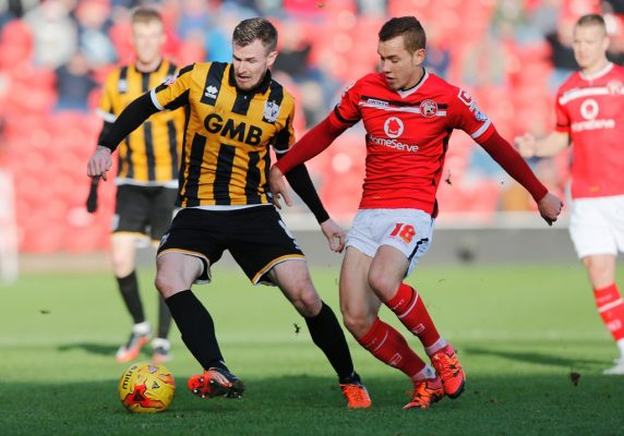 Kieron Morris wings it with Walsall
