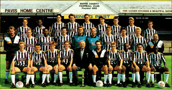 Where Are They Now? Notts County's Second Division play-off winners 1990-91
