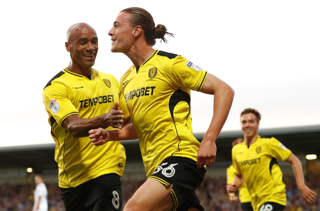 key-man: Jackson Irvine could play an integral role in your Burton save (Picture: Action Images)