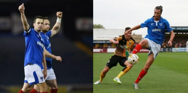 Pompey pair apologise for half-time spat