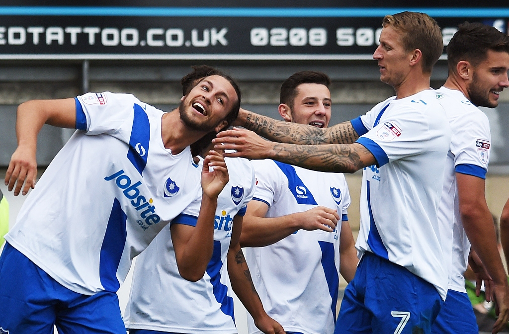 Pompey: Can you get your talented players to fulfill their potential? (Picture: Action Images)