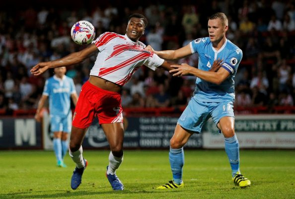 Sarll praises Stevenage youngsters