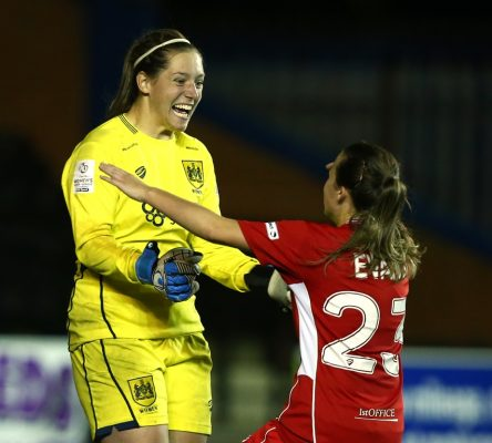 Leach sparks promotion celebrations with dramatic penalty save for Vixens