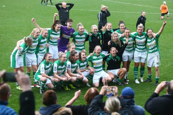 Yeovil Town Ladies soar into the top flight