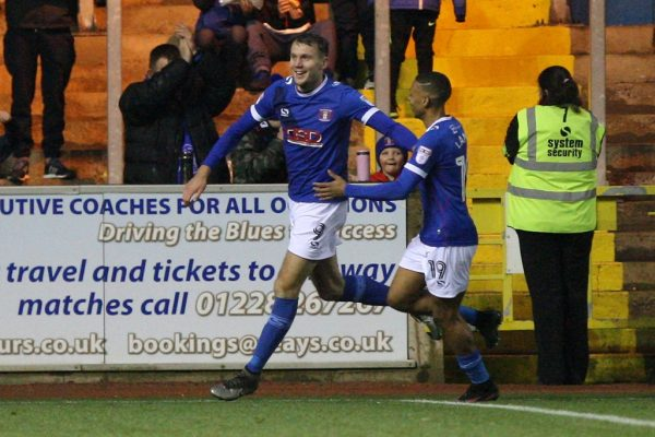 Carlisle's Charlie Wyke: Hat-trick just the start of crazy weekend