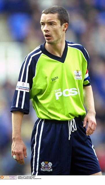 Playing days: In Peterborough United colours (Photo: Action Images / Roy Beardsworth)