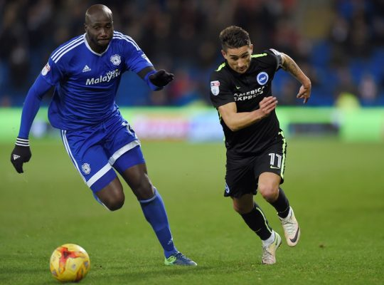 Cardiff's Bamba charged by The FA after Ipswich incident