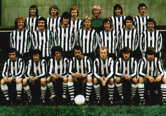 Where Are They Now? Newcastle United's Texaco Cup winners 1974-75