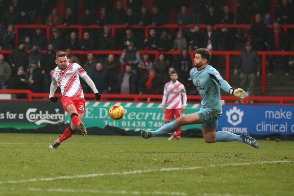Gooden: Stevenage striker reflects on first EFL treble