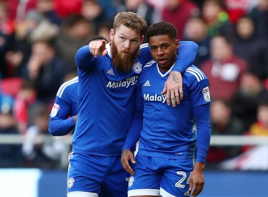 Cardiff City winger Harris signs new contract