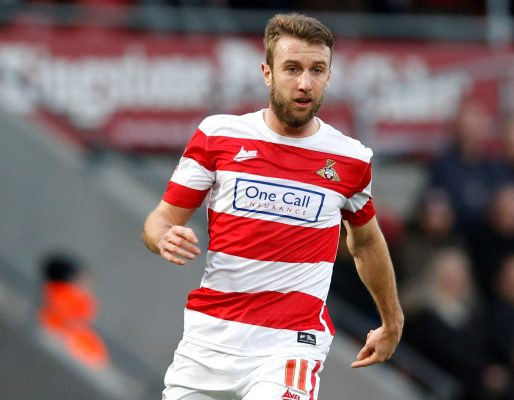 Team-mates: Doncaster Rovers striker Andy Williams