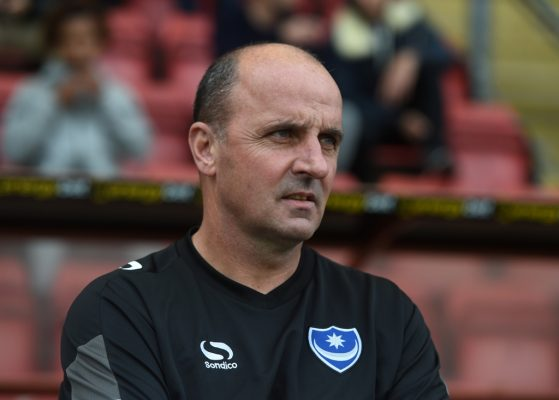 Pompey boss Cook 'sorry' for reaction to McGeehan injury