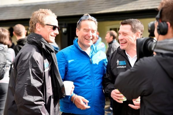 After raising £420,000 last time, Jeff Stelling is back ready to march for Prostate Cancer UK