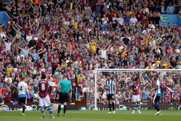 Aston Villa reveal losses exceeding £80m for last financial year