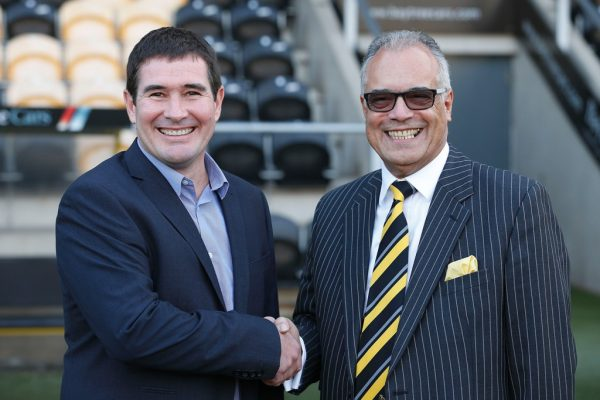 Burton chairman Robinson 'disappointed' by support