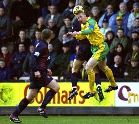 Ban on heading for children under 10 would be 'correct decision', says Norwich legend Iwan Roberts