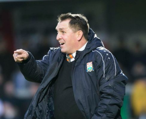 Allen's tenure at Eastleigh ends less than three months after leaving Barnet