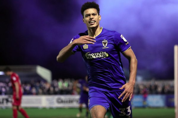 Wimbledon ace Lyle Taylor feels the passion