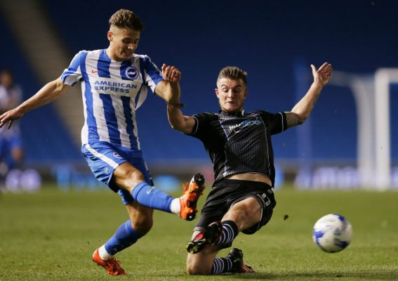 Brighton youngster Hunt loving life at Oldham