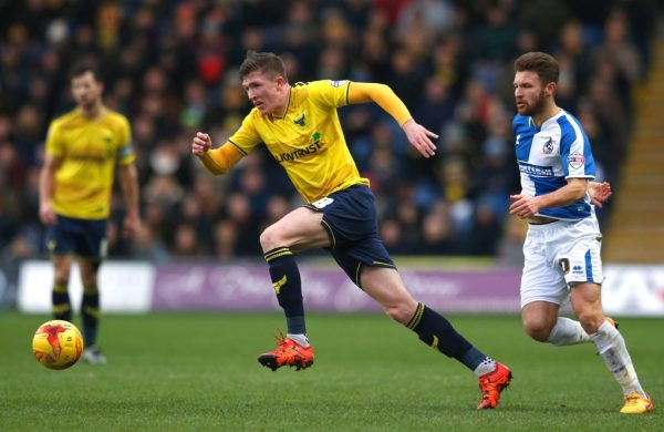 Oxford captain Lundstram delighted to get Wembley chance