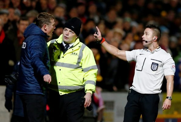 Moore column: It's time to defend referees from managers' vitriol by imposing stadium bans