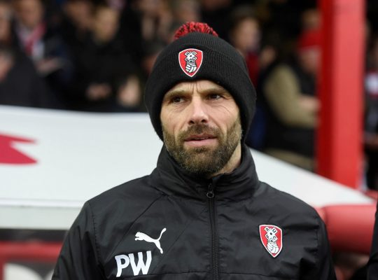 Big Interview: Rotherham United interim manager Paul Warne