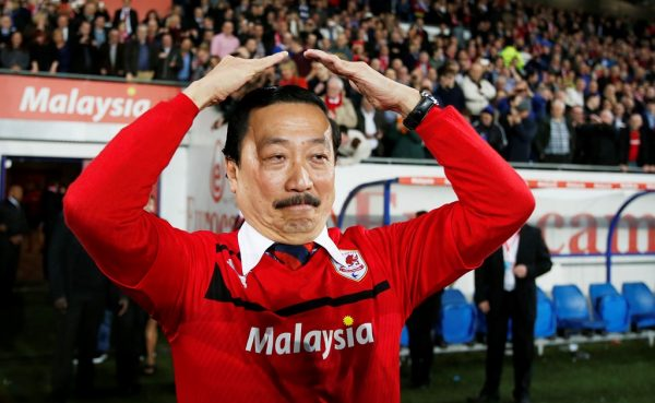 Vincent Tan not actively looking to sell Cardiff