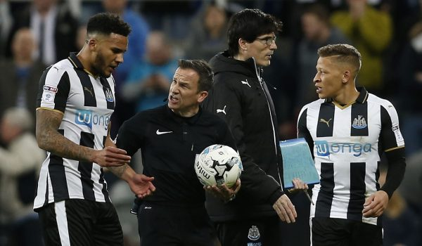 Referee apologises for getting rules wrong in Newcastle penalty incident