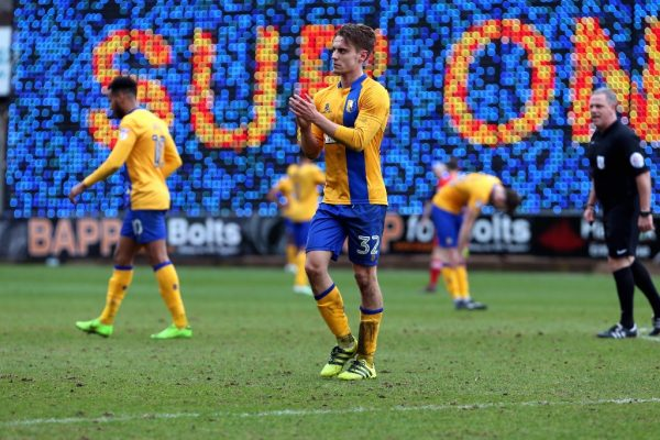 Mansfield striker Danny Rose salutes Stags defence