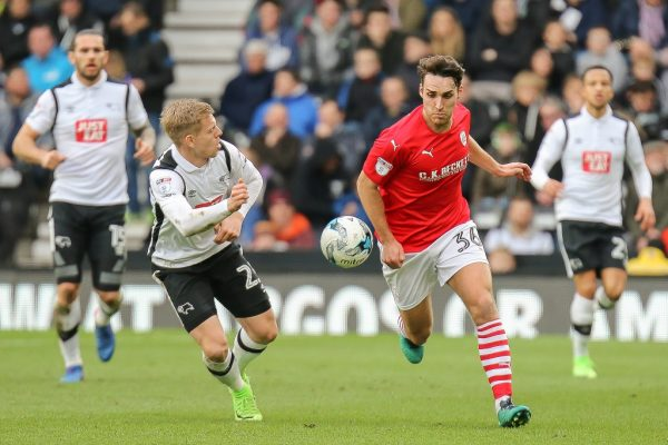 """Barnsley's Matty James: """"I've got no time to worry about the future"""""""