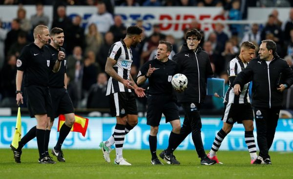 Dunlavy column: Blunder ref at St James' Park was let down by his colleagues