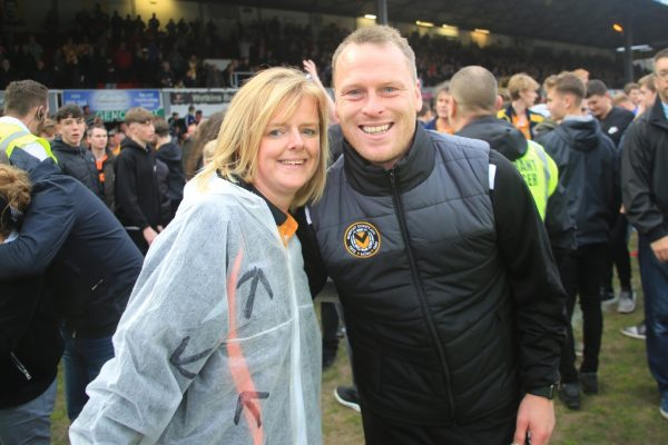 Newport County's 'Great Escape' fills Flynn with pride