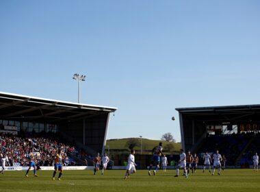 EFL, safe standing, Salop, Shrews, Shrewsbury, SkyBet League One, Standing