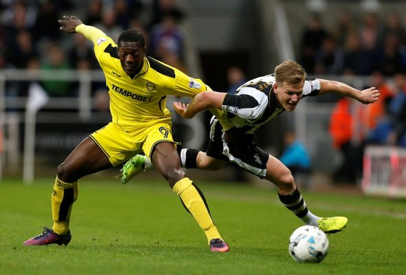 Burton Albion striker Sordell 'delighted' to sign long-term contract