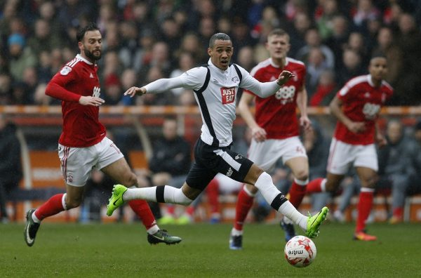 Derby's Tom Ince close to joining Huddersfield