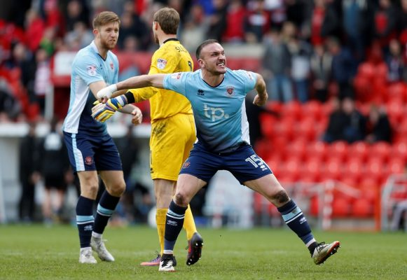 Former Blackpool captain Aldred says promotion challenge lured him to Bury