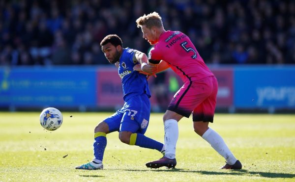 Bantams bag Thompson from Bury on season-long loan