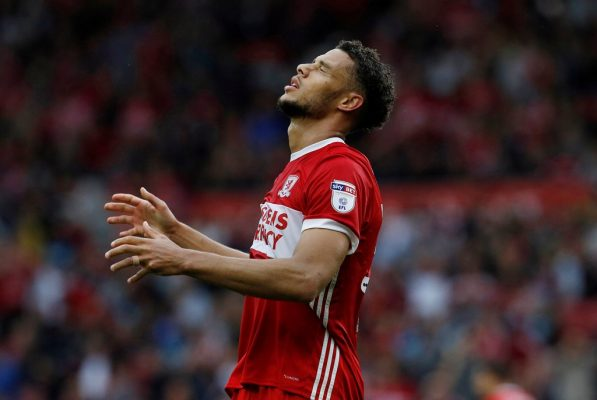 Middlesbrough striker Gestede could be out for three months after freak training injury