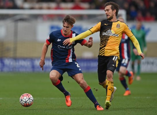 'We've given it away there' – Dunk disappointed after Cambridge beaten by Mansfield