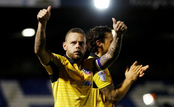Former Liverpool and Bolton man Spearing training with Blackpool