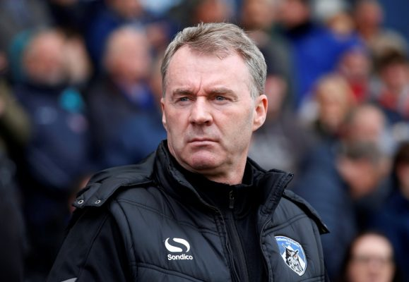 Oldham manager Sheridan leaves club by mutual consent