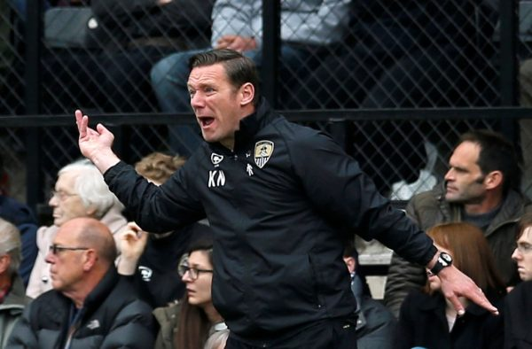 Nolan not getting carried away by Notts County's strong start to the season